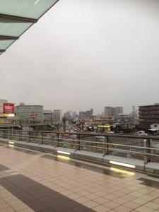 JR刈谷駅。結構都会でびっくり。